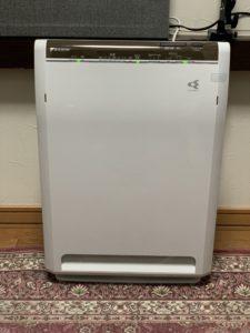 ウイルス除去型空気清浄機